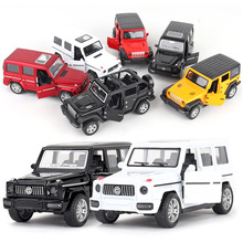 6 Color Children Mini Car Toy Model Alloy Back Force Simulation Off-road Vehicle Baking Cake Decoration New