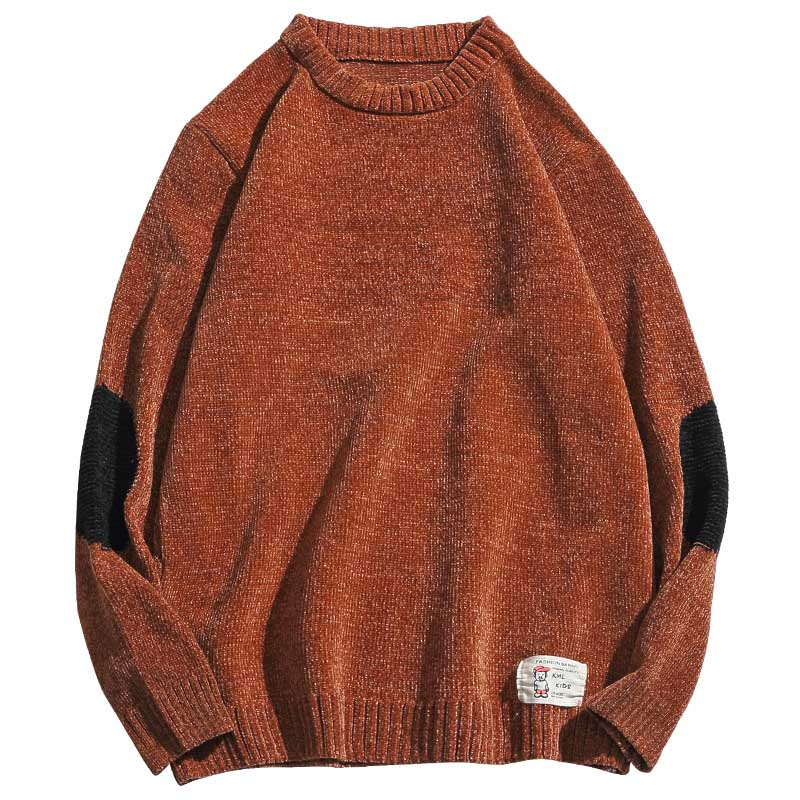 2020 New Sweater Men Long Sleeves Autumn Winter Pullover Knitted O-Neck Plus Asian Size 5XL