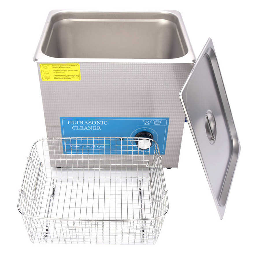1.3L/2L/3.2L/4.5L/6.5L/10L Ultrasonic Cleaner Stainless Steel Mechanical Timing Scientific Laboratory Jewelry Cleaning Supplies