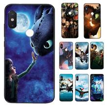 Phone-Case-Cover Dragon Xiaomi Redmi Train Yinuoda for 5-5plus/6-6a/4x7/.. How Your To