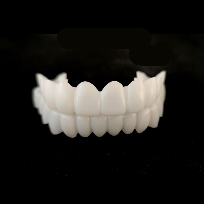 Новая верхняя и нижняя накладная зубная Накладка для зубов, виниры для идеальной улыбки, Удобная подгонка, отбеливающие зубные протезы
