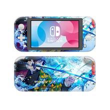Demon Slayer: Kimetsu no Yaiba NintendoSwitch pegatina de piel para Nintendo Switch Lite, Protector de Nintendo Switch Lite