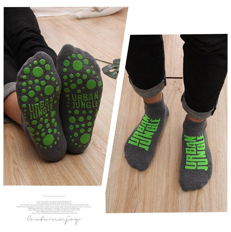 1 pair Autumn / Winter Warm Non-slip Floor Socks Boy and Girl Home Socks Cotton Candy Color Fluffy Ankle Thick Socks 5