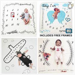Для новорожденных, для маленьких мальчиков и девочек индивидуальное Одеяло костюм фото Подставки для фотографий для детей на рост Одеяло ф...