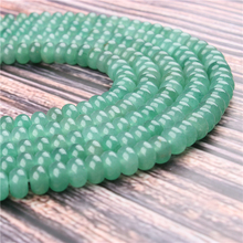 Natural Green Tomb Gem 5x8x4x6MM Abacus Bead Spacer Bead Wheel Bead Accessory For Jewelry Making Diy Bracelet Necklace
