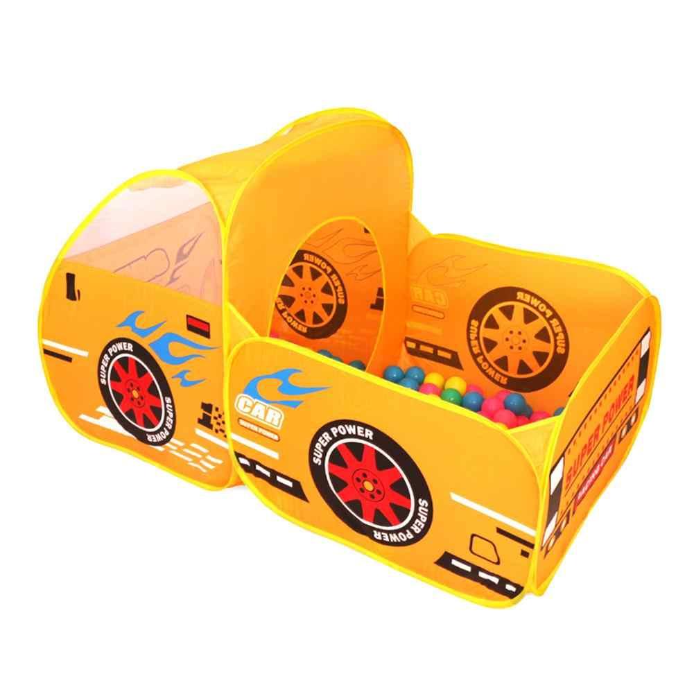 Crianças dobrável barraca de jogo ao ar livre bebê oceano bola piscina pit jogo casa de jogo meninos meninas bonito modelo de carro tendas de jogo brinquedos para crianças