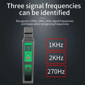 Free Shipping KFI-40 Live Fiber Optical Identifier  with LED Display Identifying direction break checker FTTH Testing Tool - discount item  15% OFF Communication Equipment