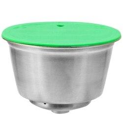 Filtr do kawy ze stali nierdzewnej kapsuła do kawy wielokrotnego użytku do kapsułek wielokrotnego napełniania Dolce Gusto do kawy Nespresso