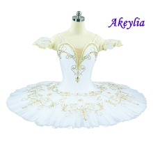Gamzatti ballet tutu Girls International Ballet Competition Classical Pancake Costume Nutcracker Kids Professional Tutu