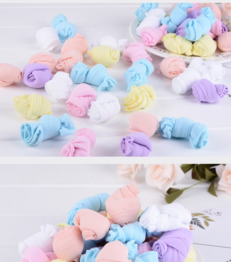 5Pairs lot Infant Baby Socks Summer Mesh Thin Baby Socks for Girls Cotton Newborn Boy Toddler Socks Baby Clothes Accessories in Socks from Mother Kids