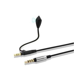 Image 5 - POYATU mikrofon sopası kablosu Soul JET Pro savaş döngü SV3 SL300 SL150 SL100 kulaklık kablosu Mic ile 3.5mm PC için Skype