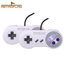 Retroflag USB Controlador-U juegos por cable controlador para Raspberry Pi ventanas interruptor