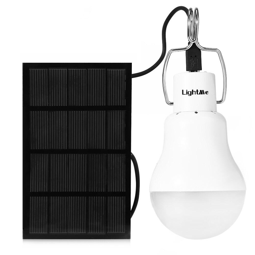 Светильник me S-1200 1,5 W 130LM портативный светодиодный светильник садовая лампа на солнечной энергии