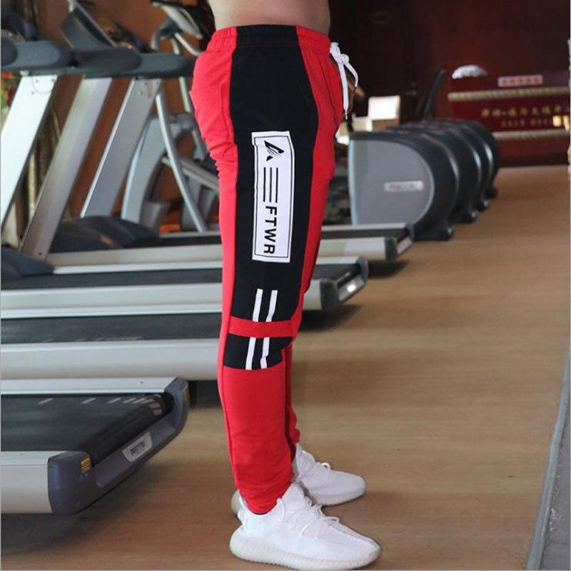 New Jogging Pants Men Sport Sweatpants Running Pants  Pants Men Joggers Cotton Trackpants Slim Fit Pants Bodybuilding Trouser