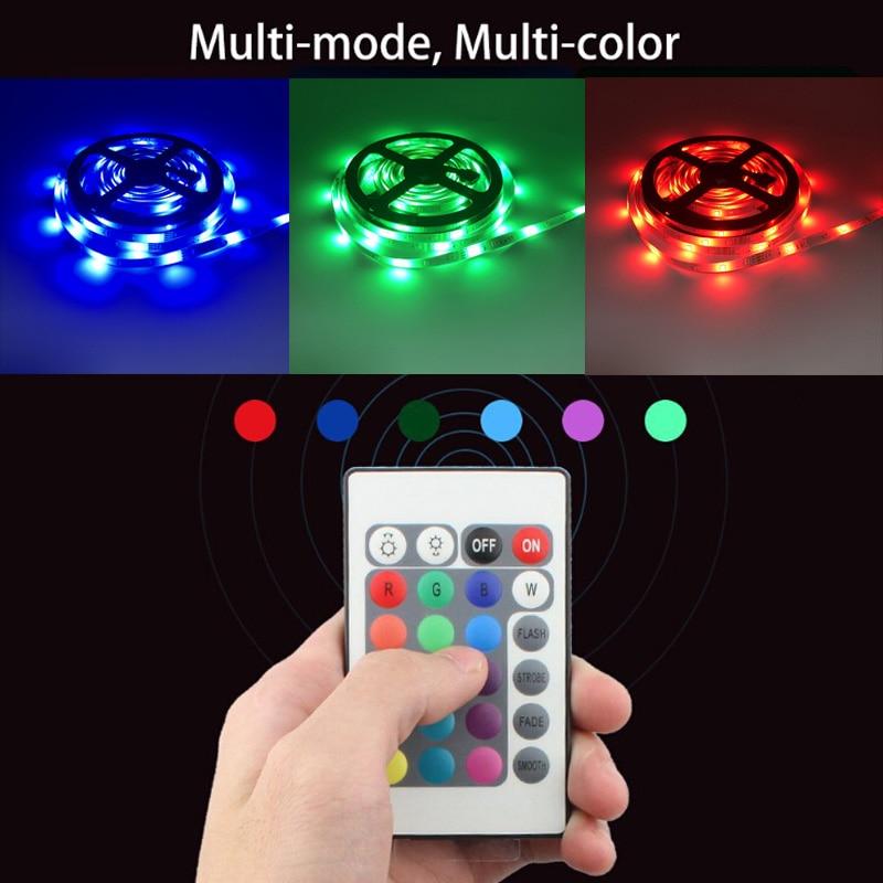32.8Ft (10M) Smart WIFI RGB LED Light SMD 2835 RGB Waterproof Flexible 12V Power Supply Color Changing LED Strip Tape Full Set (28)