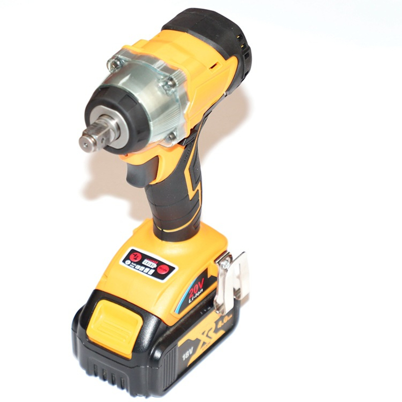 Trechargeable Brushless Impact Wrench Screwdriver Instead Compatible For De Walt 18V 20V Lithium Battery