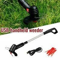 Cortacésped eléctrico portátil, cortacésped de mano inalámbrico para el hogar, agrícola, herramienta de poda de jardín # g3