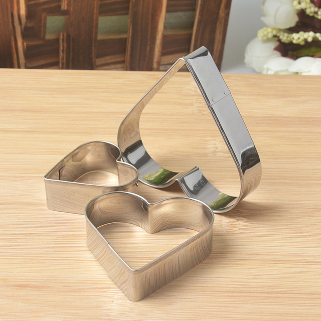 Star Heart Flower Cookie Cutter Egg Baking Kitchen Accessories