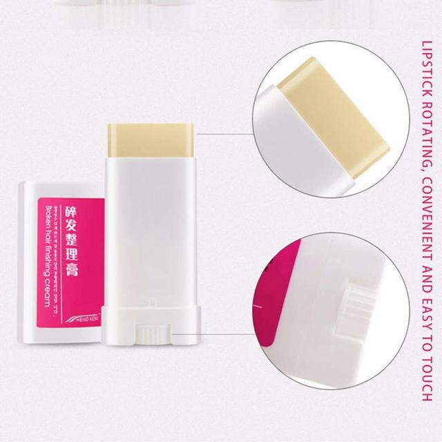 Practical Women Small Broken Hair Finishing Cream Portable Refreshing Styling Fix Wax Stick Hair Styling Cream TSLM1