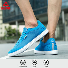 PEAK Men's Running Shoes Super Lightweight Training Fitness Sneakers Casual Breathable Wearable Durable Jogging Sport Shoes li ning men power cushion training shoes breathable comfort wearable lining sport shoes fitness sneakers afjn007 yxx039