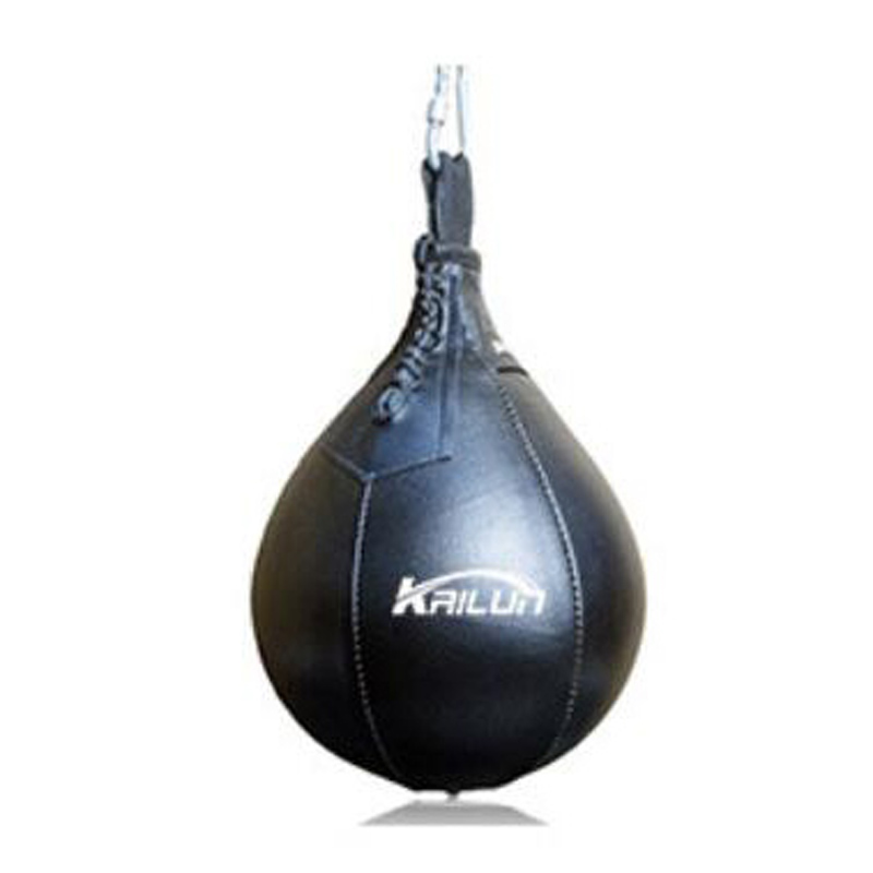 Sport Fitness MMA Boxing Punching Speed Training Ball Hanging Pear Bag Exercise High Elastic Designed PU Leather