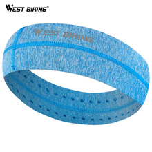 WEST BIKING Cycling Headwear Stretchy Sweatbands Sports Breathable Antiperspirant bands Unisex Tennis Running Headbands
