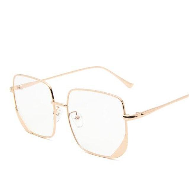 Gold frame white