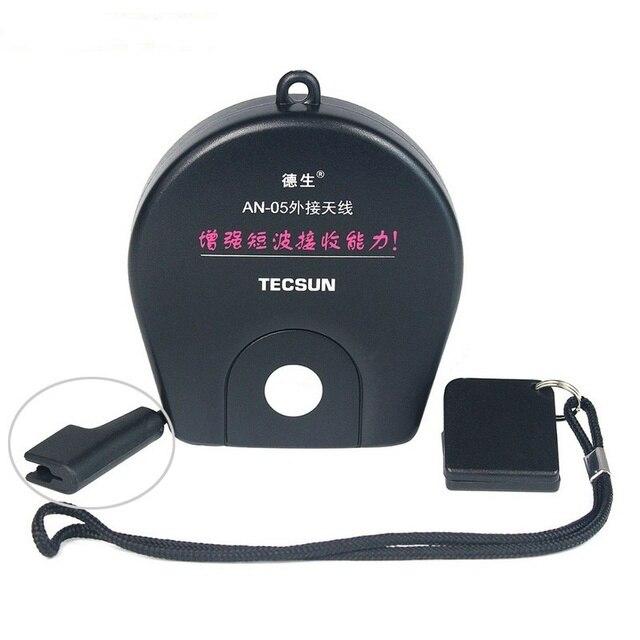 Antenne TECSUN AN05/AN03 antenne externe Radio récepteur pince pour TECSUN PL 310ET PL 660 PL 380 PL 606 PL 505 PL600 FM/SW Radio