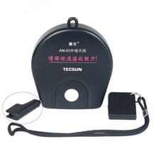 TecsunアンテナAN05/AN03外部アンテナラジオ受信機クリップtecsunためPL 310ET PL 660 PL 380 PL 606 PL 505 PL600 fm/swラジオ