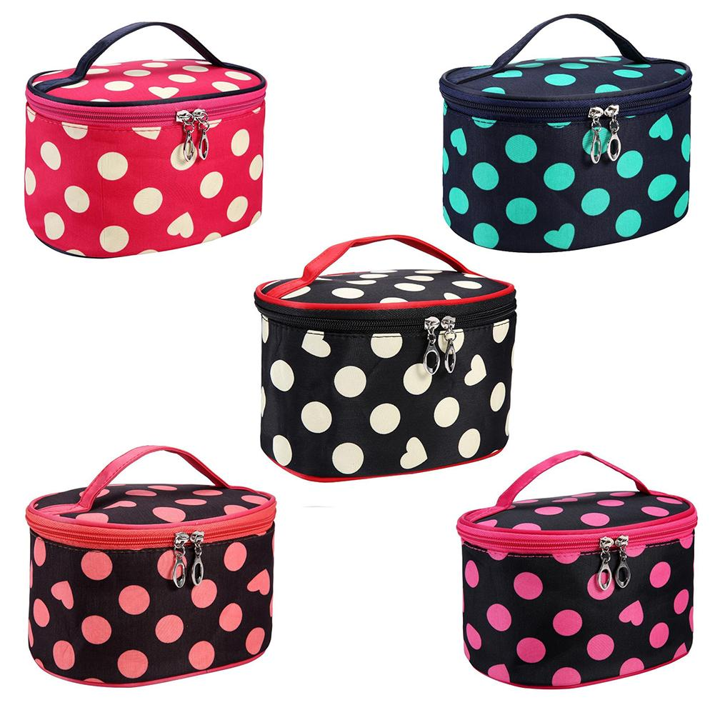 Printing Makeup Cosmetics Pouchs For Travel Ladies Pouch Women Bags With Multicolor Pattern Cute Cosmetic Bag