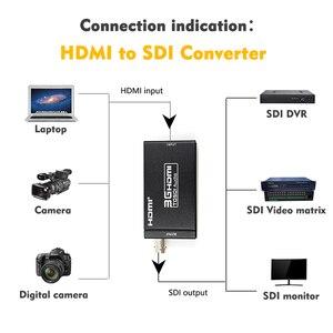 Image 5 - 1080P 3G HDMI to SDI BNC Converter + SDI to HDMI Converter HDMI SDI / BNC Extender Over single 100m/328ft Coaxial Cables