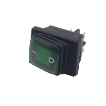 1PCS ON OFF Heavy Duty 4 pin IP67 Sealed Waterproof Auto Boat Marine Toggle Rocker Switch with LED