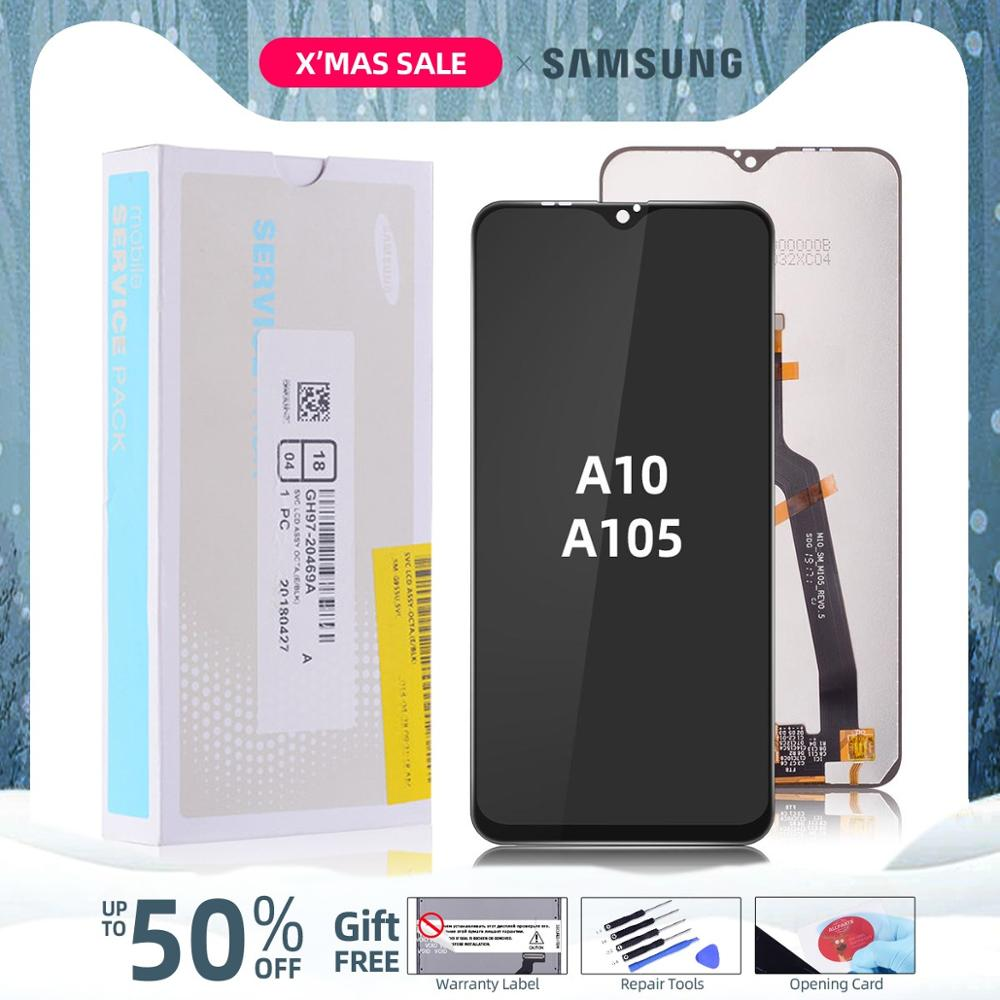 Original LCD For SAMSUNG A10 LCD Display Touch Screen Digitizer Replacement For Samsung Galaxy A10 M10 LCD A105 A105/DS M105 image