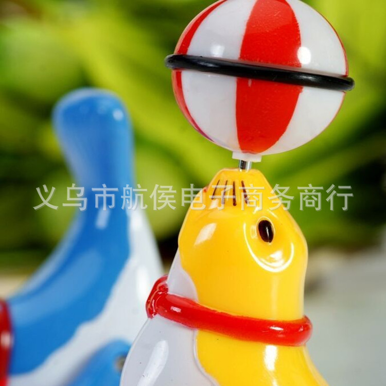 Hot Sales Winding Dolphin Spring Animal 360 Rotating Walking Acrobatics Sea Lions Pop And Tip Children Doll Kids Play