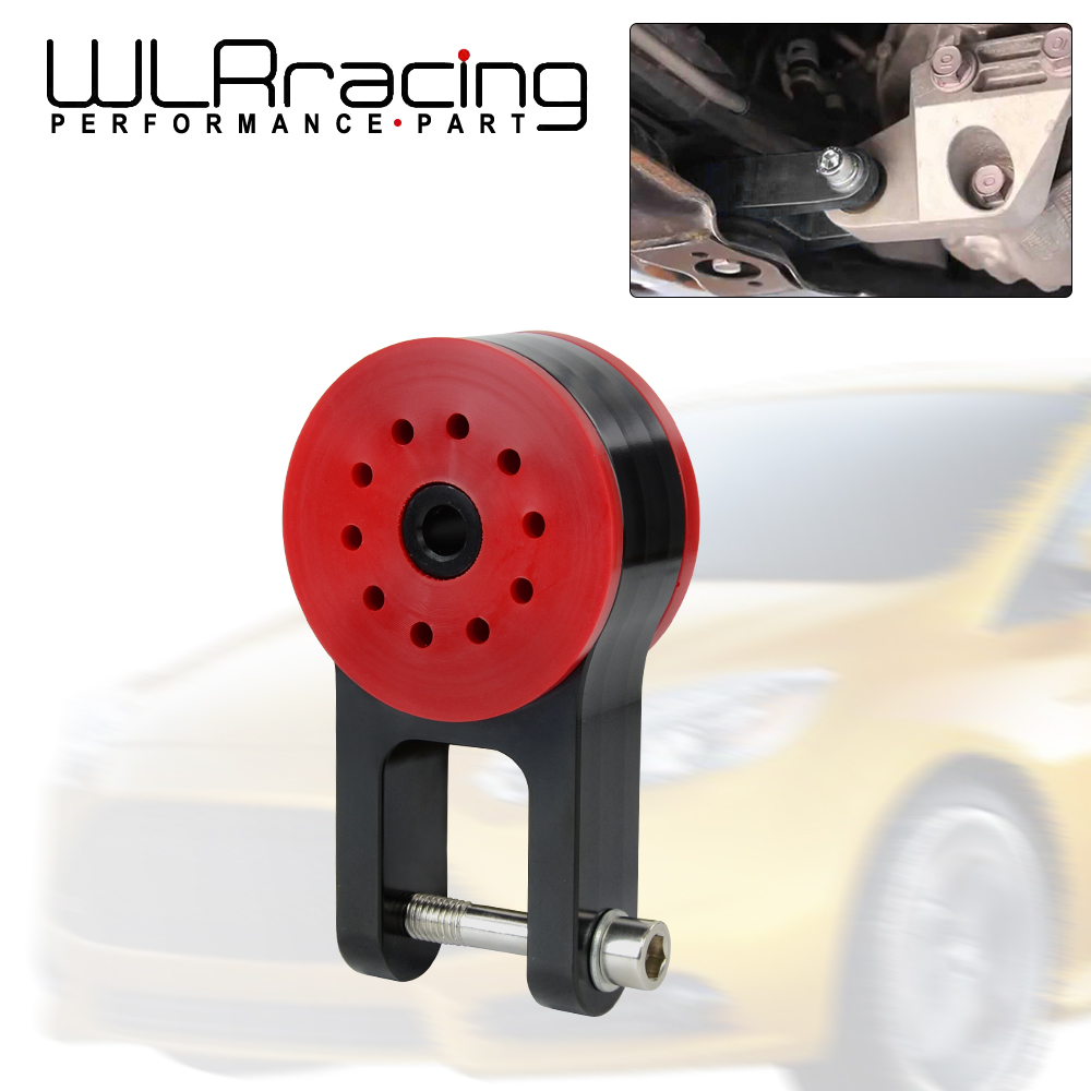 WLR - 85A Polyurethane T6061 Aluminum Rear Motor Mount For 13-18 Ford Focus ST 16-18 Focus RS 07-13 Mazda Speed 3 VR-TSB06