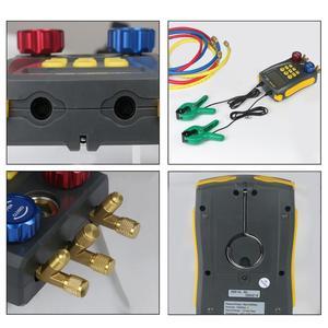 Image 5 - AUTOOL LM120+ Air Conditioning Manifold Digital Vacuum Gauge for Refrigeration HVAC Vacuum Pressure Temperature Tester PK Testo