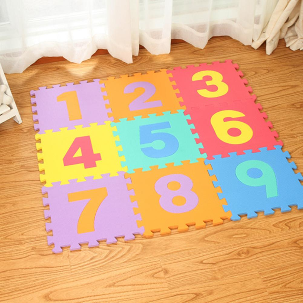 30*30cm Foam English Alphabet Number Pattern Play Mat For Baby Children Puzzle Toy Yoga Letter Crawling Mats Rug Carpet Toys