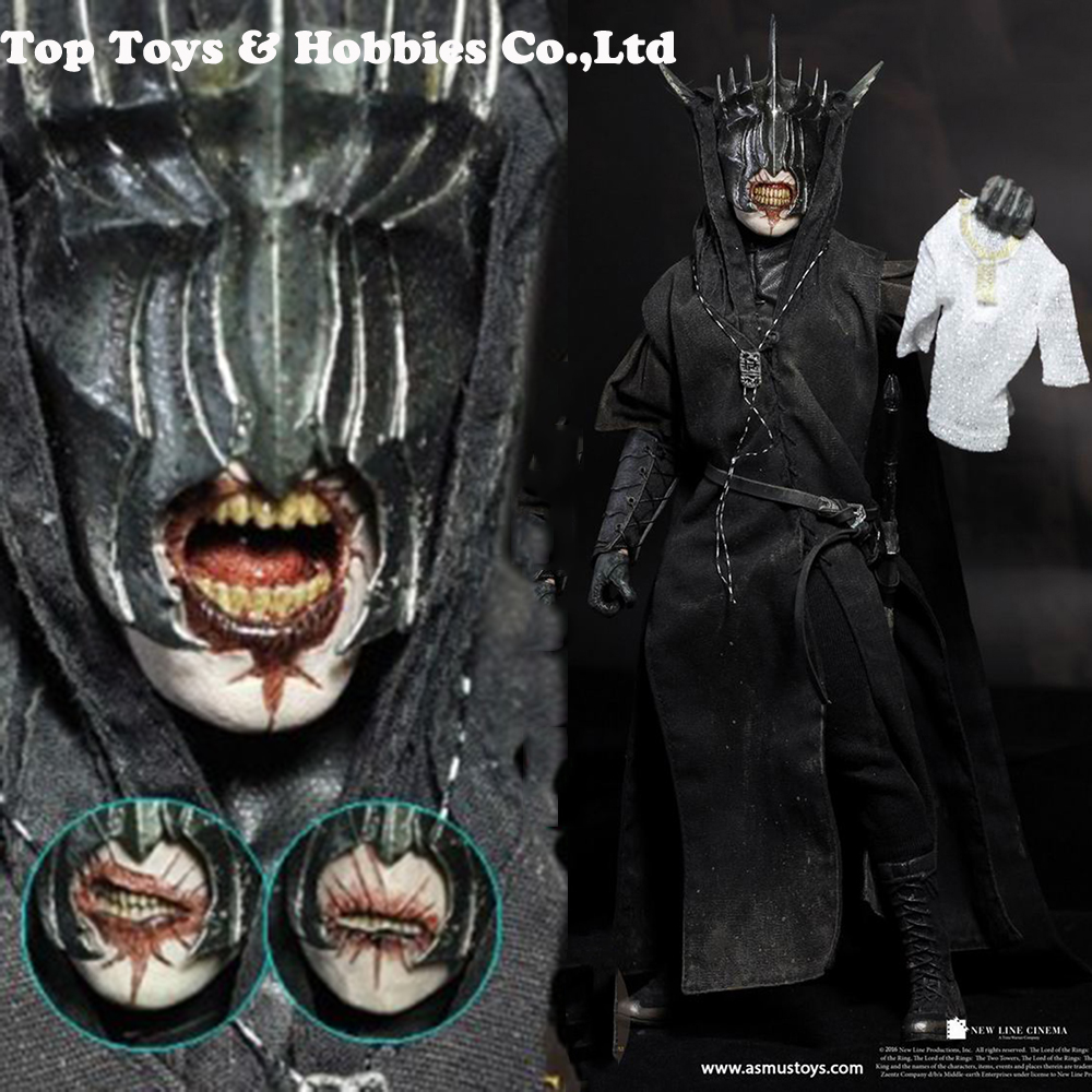 For Collection LOTR009S The Rings Mouth Of Sauron 1/6 Collectible Solider Figure Full Set Collection