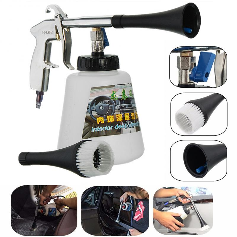 High Pressure Car Cleaning Gun Tornador Foams Gun Surface Interior Exterior Air Washing Tool Car Accessories US Type