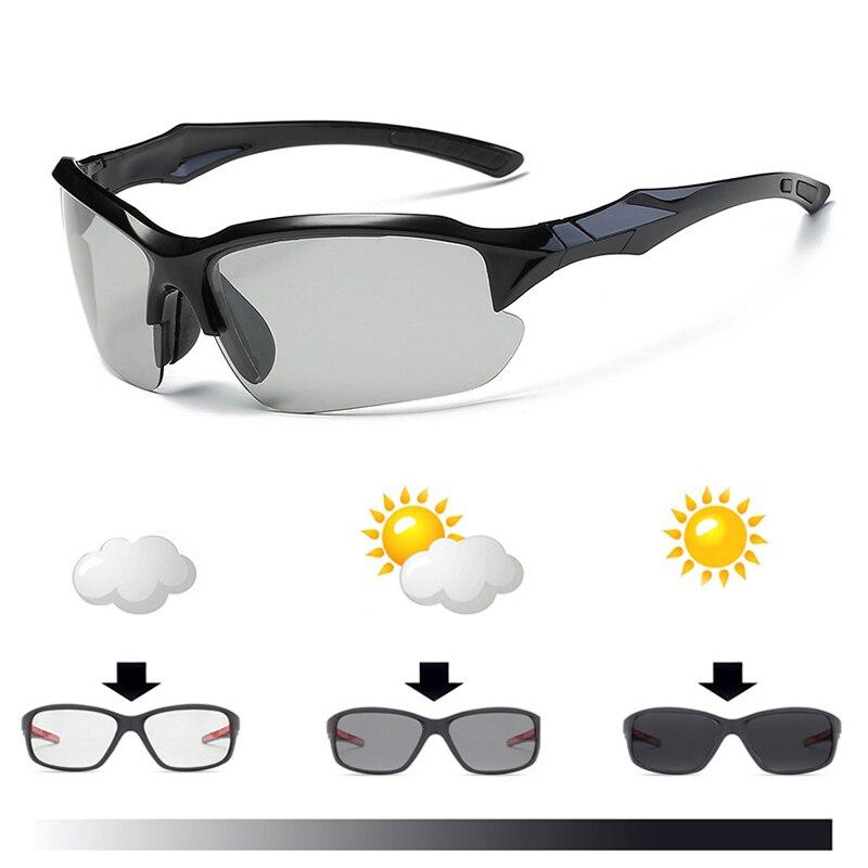 Professional Photochromic Cycling Glasses Polarized Bike Bicycle Eyewear Riding Racing Sports Sunglasses Fishing Goggles AC0257