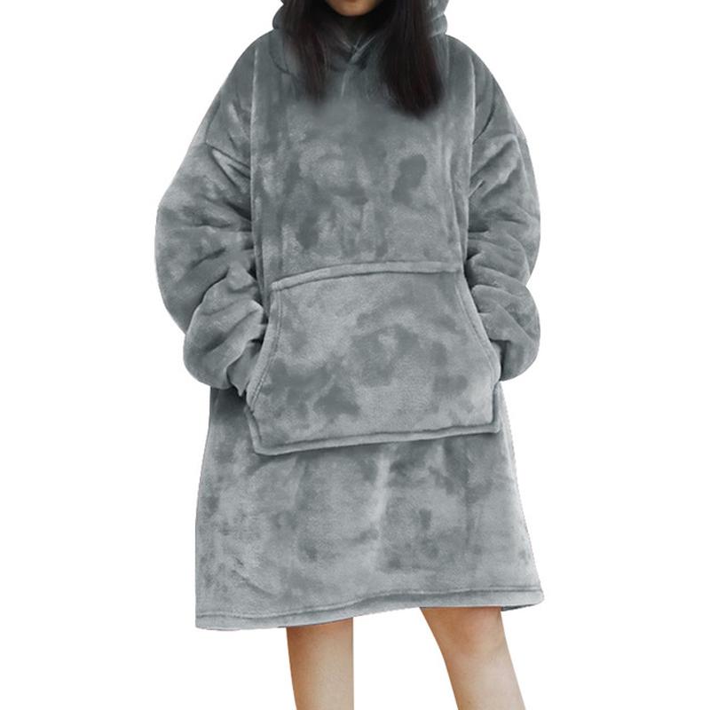 Night Female Nightgown Gown Winter Thick Warm Female Nightwear