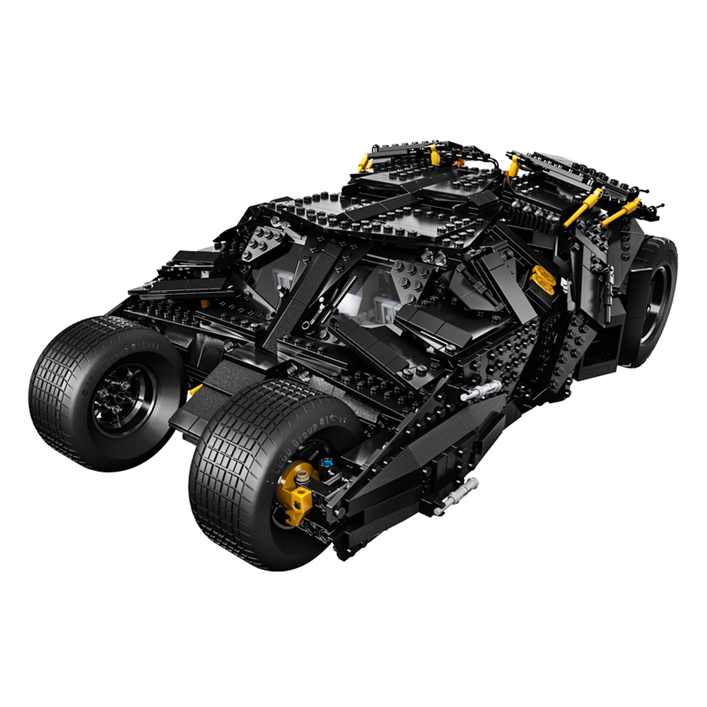 AIBOULLY 7111 Building Blocks Super Heroes Batman Chariot The Tumbler Batmobile Batwing Joker Minis Bricks Bringuedos 76023
