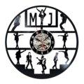 Майкл Джексон настенные часы современный дизайн декоративный гостиная часы классические виниловые CD пластинка настенные домашние декорат...