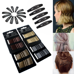 12/24/36/60Pcs Hair Accessories Hair Clips for Women Girls Invisible Curly Wavy Grips Hairpins Barrette Styling Accessories