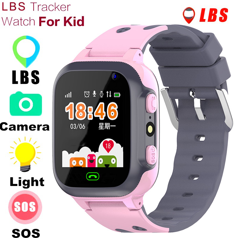 2020 <font><b>Kids</b></font> <font><b>Smart</b></font> <font><b>Watch</b></font> SOS Antil-lost Wristwatch Baby 2G SIM Card Clock Call Location Tracker Children Smartwatch PK Q50 Q90 <font><b>Q528</b></font> image