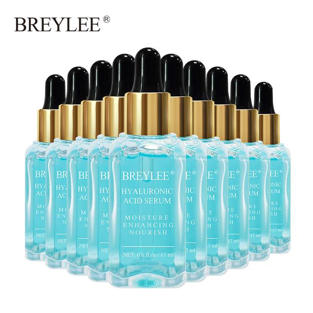 BREYLEE Hyaluronic Acid Serum Face Facial Moisturizing Essence Anti-wrinkles Liquid Whitening Skin Care 10pcs