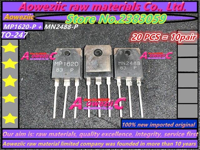 Aoweziic 100% nieuwe geïmporteerde originele MP1620 P MN2488 P MP1620 MN2488 OM 247 Audio Eindversterker Transistor