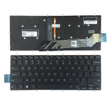 Ons Rood/Wit Toetsenbord Voor Dell Inspiron 13 5368 5378 5578 7368 7378 Zwarte Laptop Toetsenbord Met Achtergrondverlichting