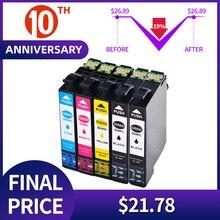 QSYRAINBOW mürekkep kartuşları değiştirme epson 288xl T288xl E 288xl için uyumlu XP240 XP340 XP440 XP344 yazıcı