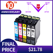 Substituição dos cartuchos de tinta qsyrainbow para epson 288xl t288xl E 288xl compatível para epson xp240 xp340 xp440 xp344 impressora